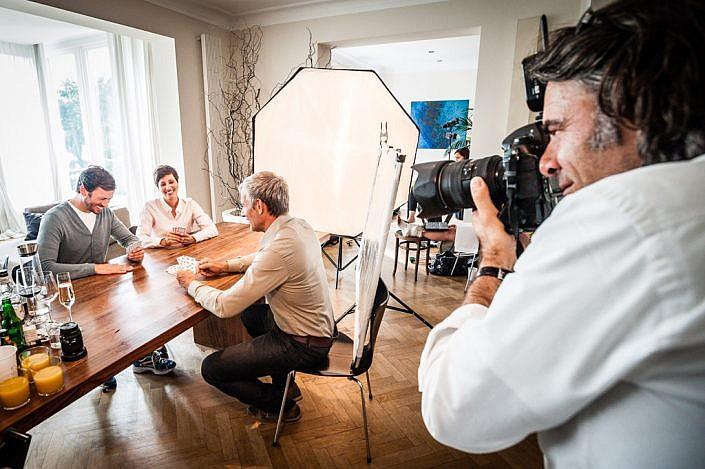 Fotojournalist und Autor Lutz Jäkel bei einem Corporate-Fotoshooting
