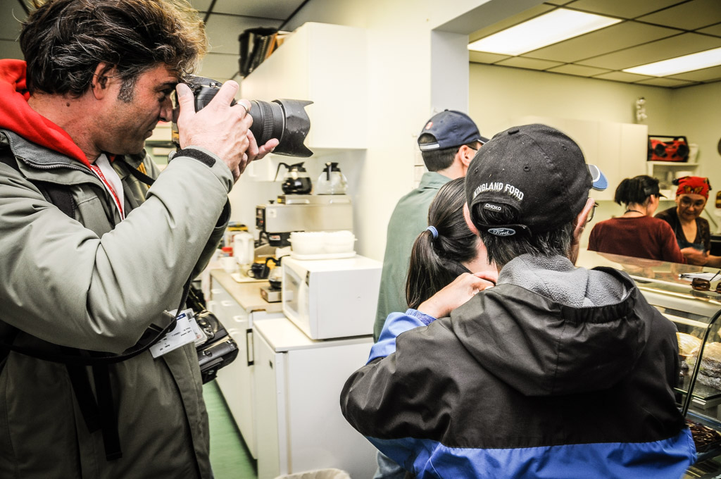 Fotojournalist und Autor Lutz Jäkel in der kanadischen Arktis