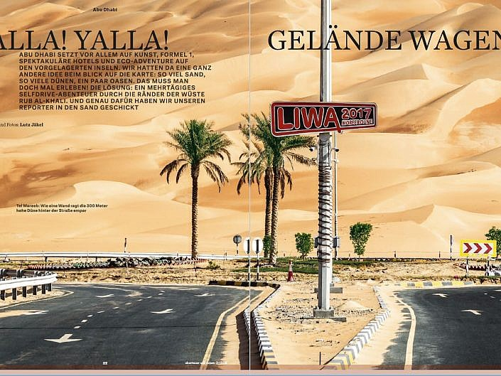 Abu Dhabi – Yalla Yalla!