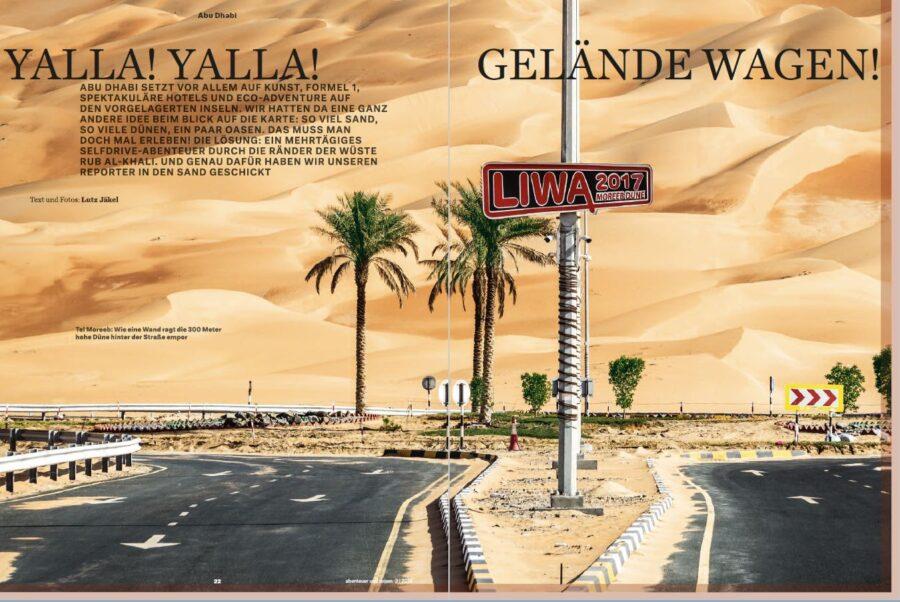 Abu Dhabi - Yalla Yalla!