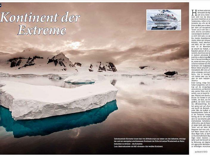 Antarktis Kontinent der Extreme