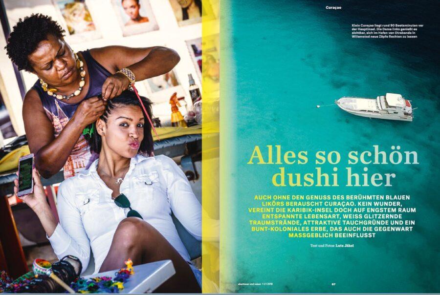 Curacao - Alles so schön duschi hier
