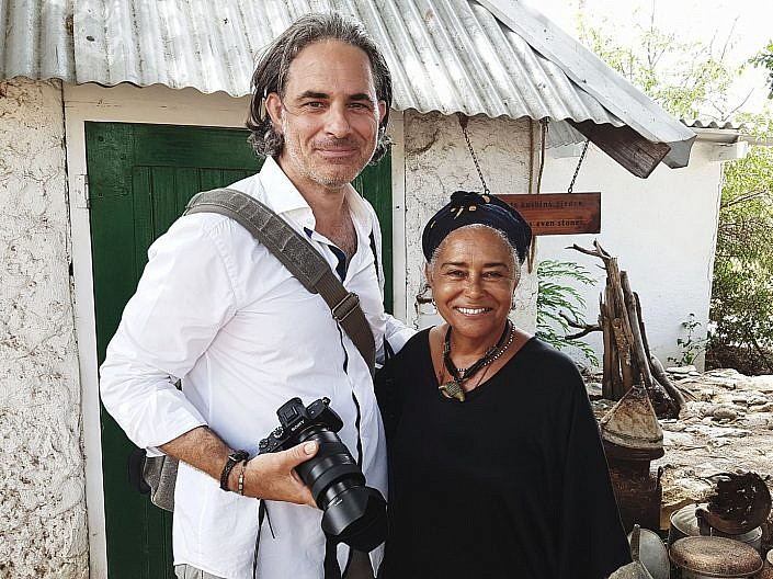 Fotojournalist und Autor Lutz Jäkel auf Curacao