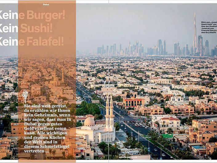 Dubai – Keine Falafel!