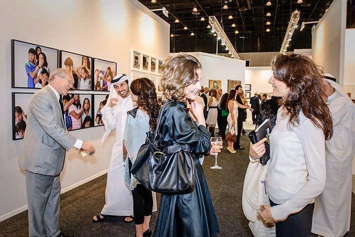 Vereinigte Arabische Emirate: Dubai. Jumeirah. Dubai Art Fair