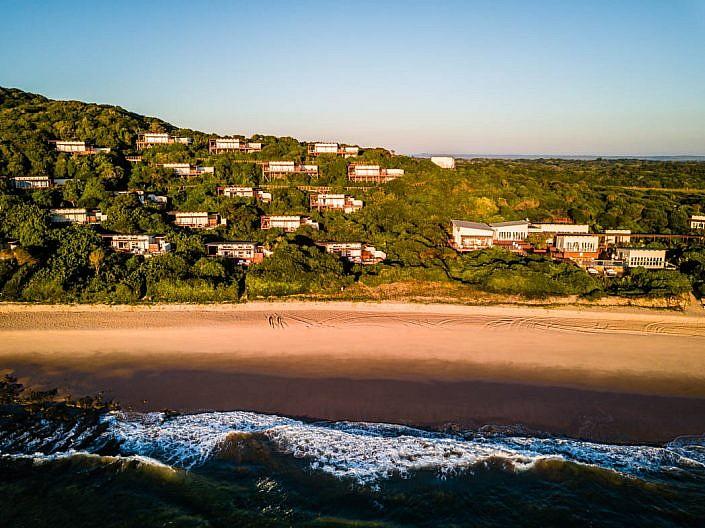 Drohne, Drohnenaufnahme mit DJI Mavic Pro. Mosambik
