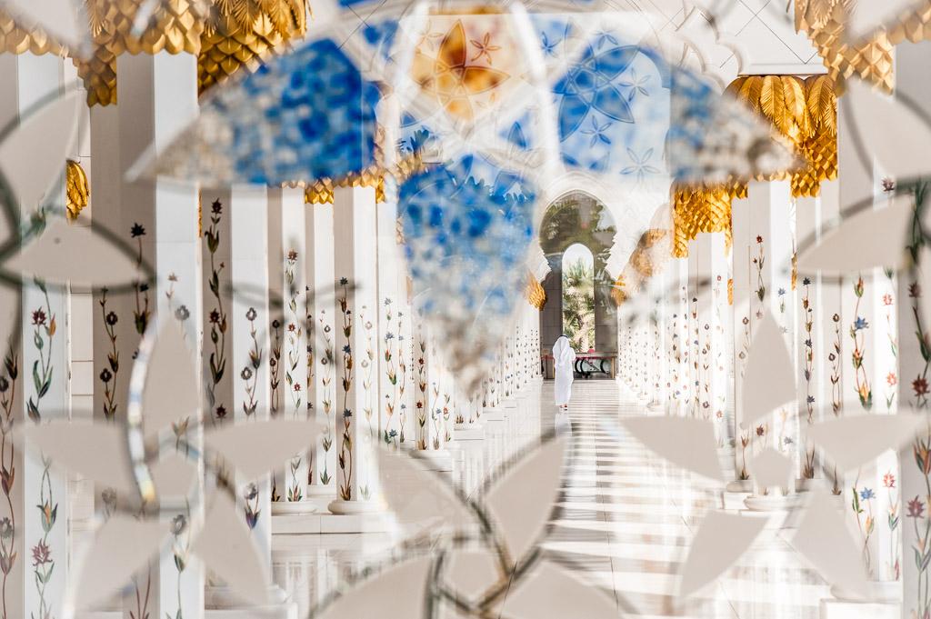 Abu Dhabi. Schaikh Zayed (Zayid) Moschee.