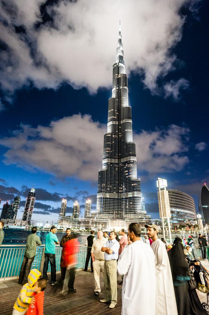 Vereinigte Arabische Emirate: Dubai. Burj Khalifa