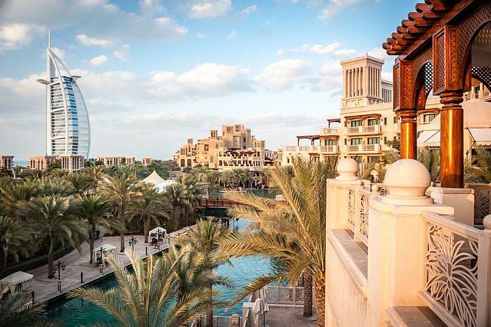 Vereinigte Arabische Emirate: Dubai. Jumeirah. Burj al-Arab.