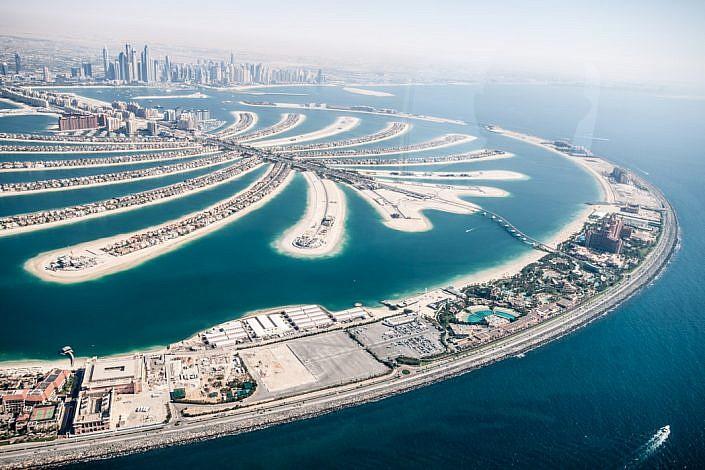 Vereinigte Arabische Emirate: Dubai. Deira. The Palm