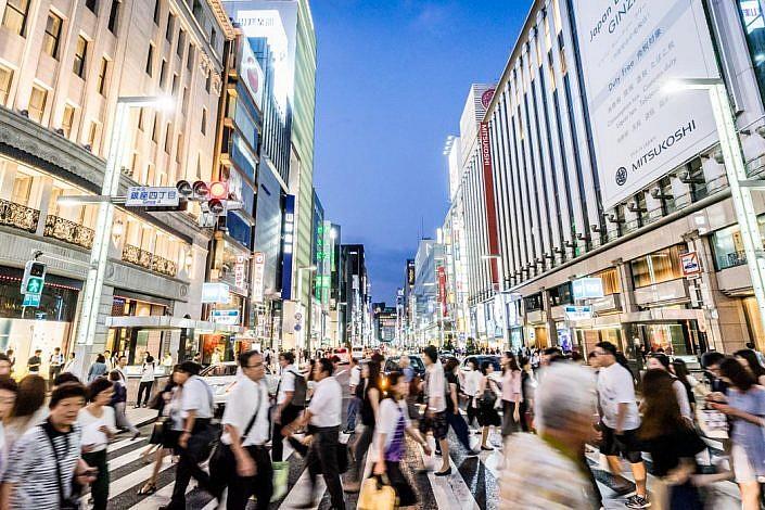 Tokio: Ginza. Yurakucho.