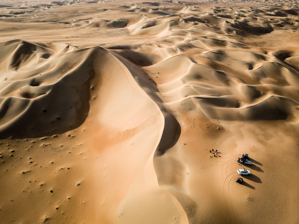 Wüstenflug