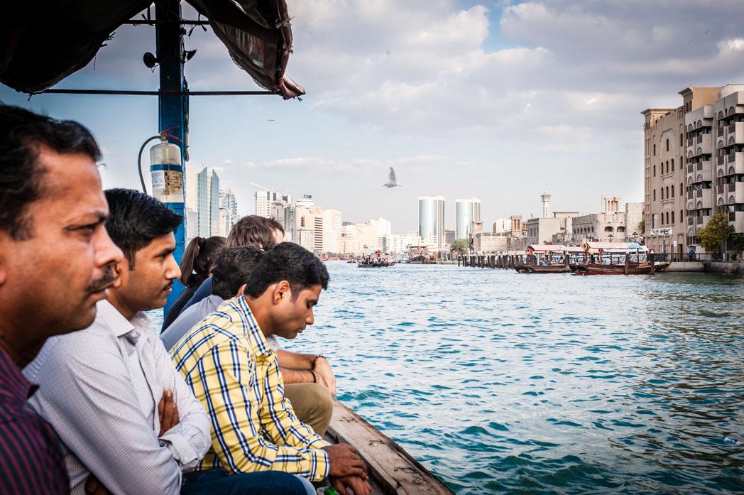 Vereinigte Arabische Emirate: Dubai. Deira. Creek.