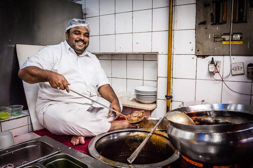 Vereinigte Arabische Emirate: Dubai. Indisches Restaurant