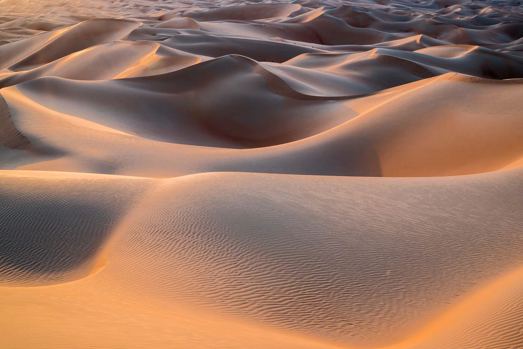Abu Dhabi Rub al-Khali Wüste