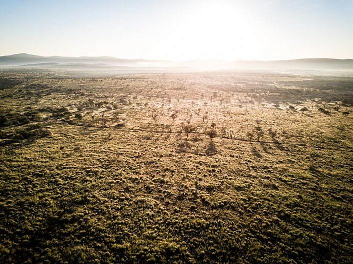 Drohne, Drohnenaufnahme mit DJI Mavic Pro. Südafrika