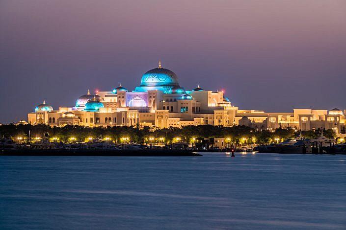 Abu Dhabi Präsidentenpalast