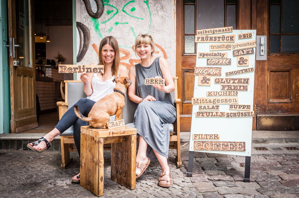 "Berlin: Craft Beer Szene. Café ""No 58 Speiserei"""