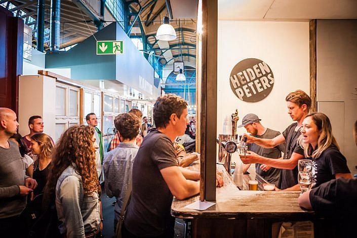 Berlin: Craft Beer Szene. Markthalle Neun.