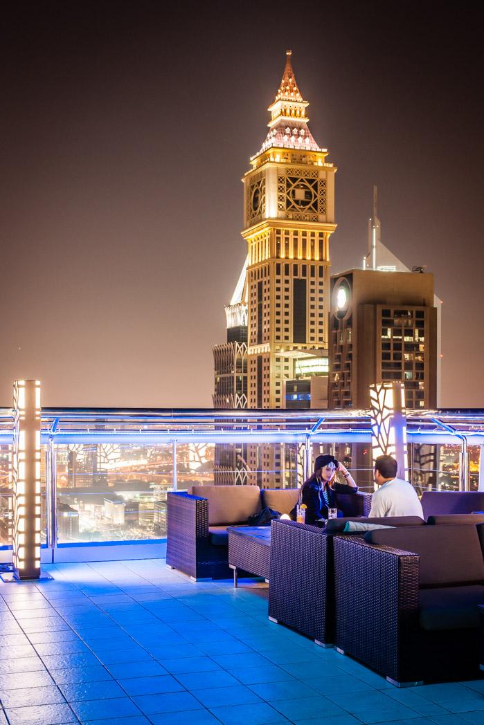 Vereinigte Arabische Emirate: Dubai. Shaikh Zayed Road. Sheraton Hotel.