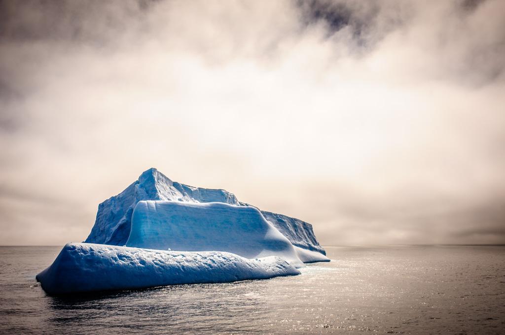 Eisberge in der Antartktis