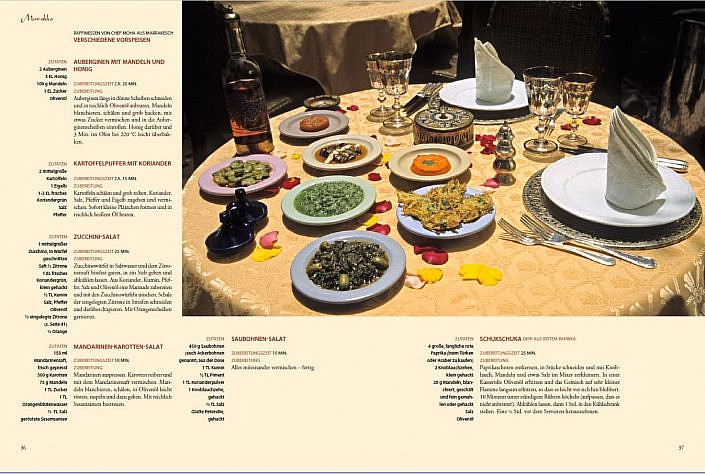 """Textbildband """"Kulinarisches Arabien"""" (zusammen mit Florian Harms)"""