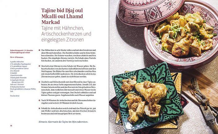 "Textbildband ""The Taste of Marrakesch"""