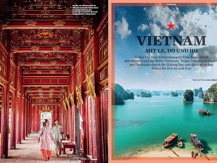 Vietnam - Mit Le, Do und Ho