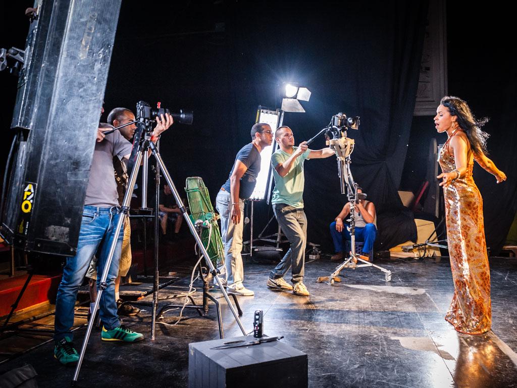 """Musikvideo """"Sigo Amándote"""" - Making-of"""