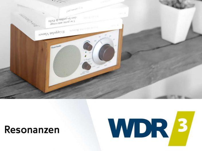WDR3 Resonanzen – Interview mit Lutz Jäkel