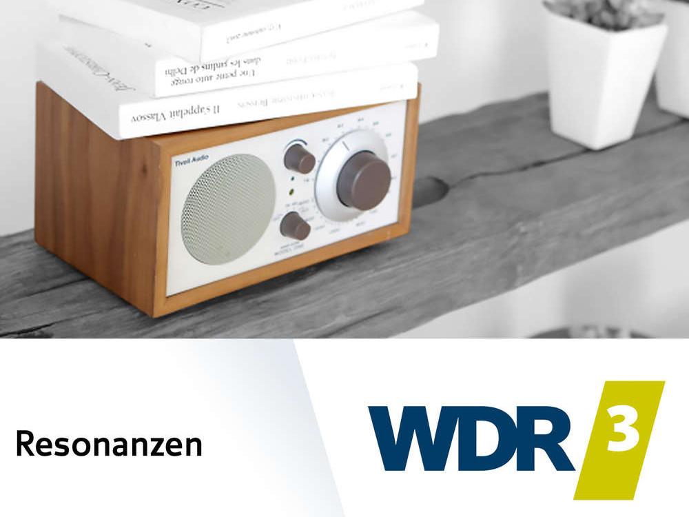 WDR3 Resonanzen - Interview mit Lutz Jäkel