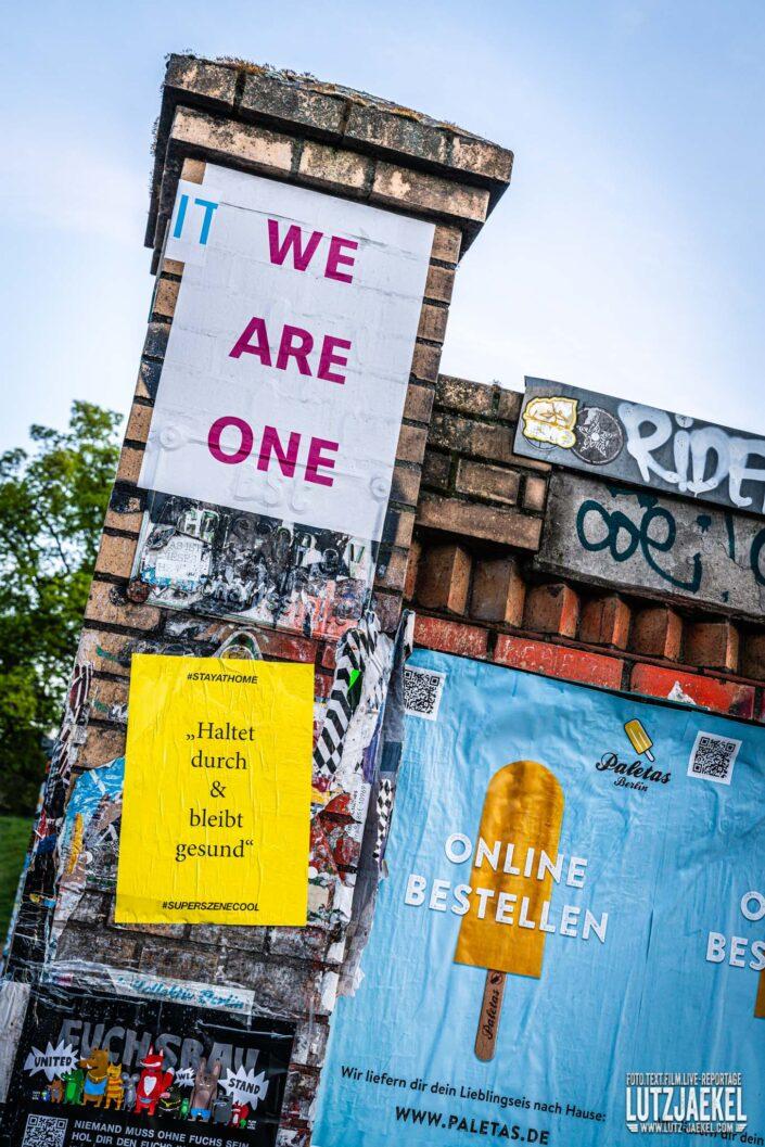 Berlin im Corona Lockdown