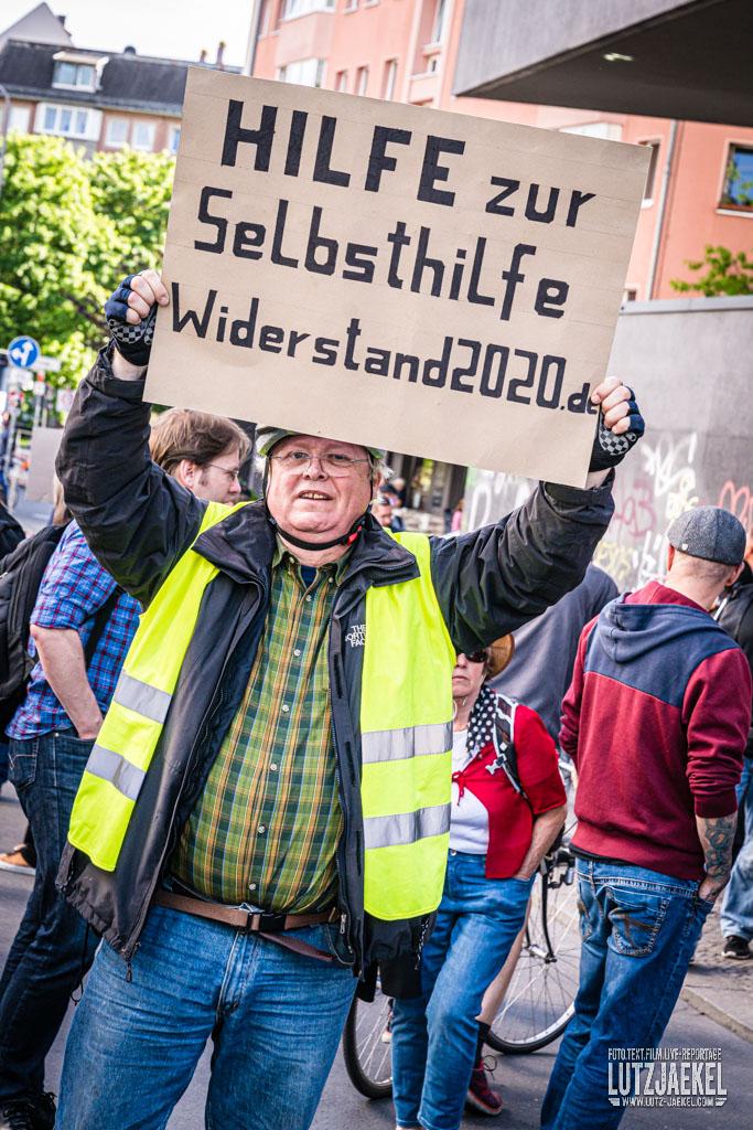 Berlin Querdenker Corona Demonstration