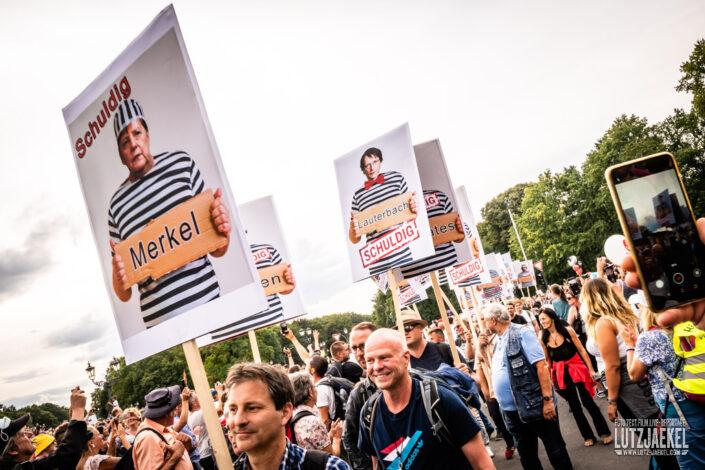 Querdenker Demo im Sommer 2020