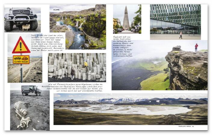 Island & Grönland / Travellers World Magazin