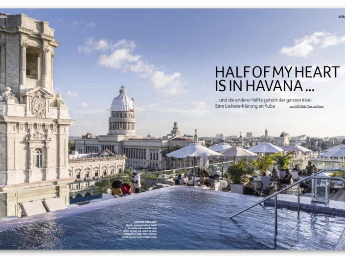 Half of my heart is in Havana