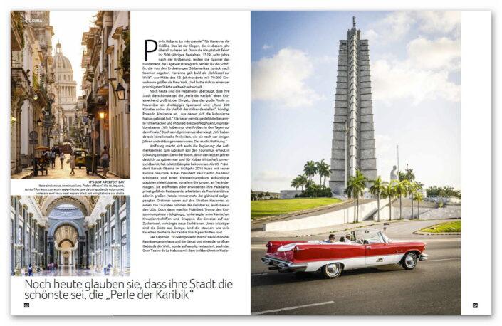 Havanna / Kuba Airtours Magazin