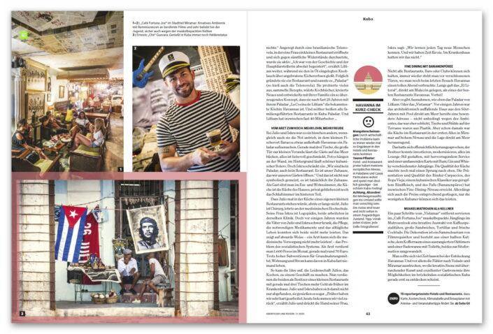 Havanna / Kuba Abenteuer und Reisen Magazin